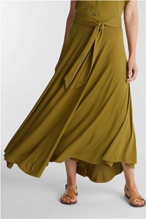 Esprit γυναικεία maxi φούστα με ζώνη