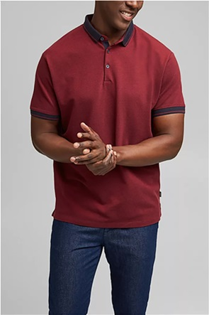 Esprit ανδρική πόλο μπλούζα πικέ Regular Fit