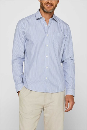 Esprit ανδρικό πουκάμισο ριγέ Slim fit COOLMAX®
