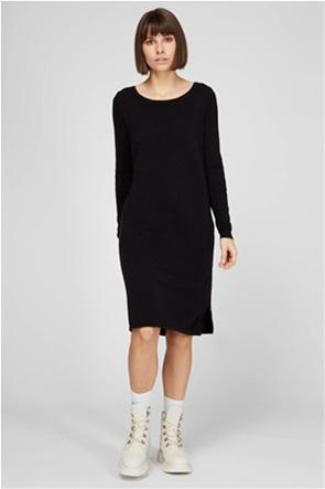 Esprit γυναικείο midi φόρεμα μονόχρωμο