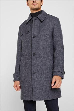 Esprit ανδρικό παλτό Wool blend
