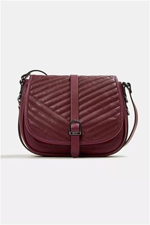 Esprit γυναικεία τσάντα crossbody με μεταλλική αγκράφα