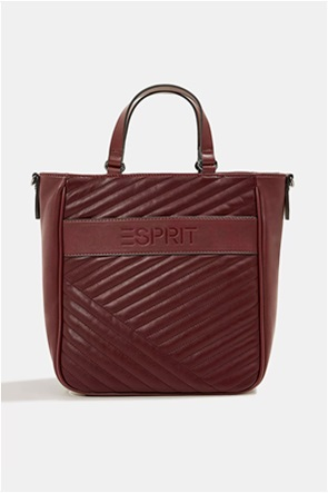 "Esprit γυναικεία τσάντα χειρός με ανάγλυφο λογότυπο ""Minnesota"""