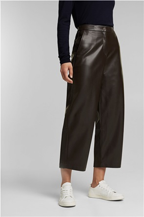 Esprit γυναικείο παντελόνι faux leather