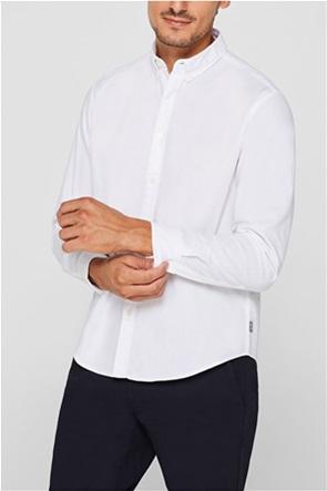 Esprit ανδρικό πουκάμισο button down regular fit