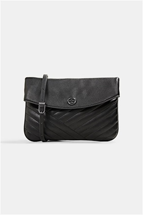 Esprit γυναικεία τσάντα crossbody με ανάγλυφο σχέδιο