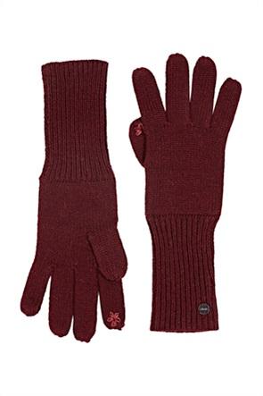 Esprit γυναικεία γάντια μονόχρωμα