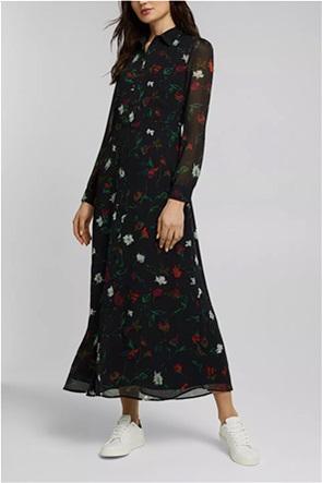 Εsprit γυναικείο maxi φόρεμα σεμιζιέ με all-over floral print
