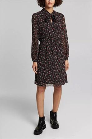 Esprit γυναικείο mini φόρεμα με all-over floral print