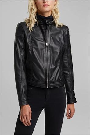 Esprit γυναικείο jacket faux leather