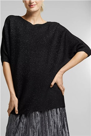 Esprit γυναικεία πλεκτή μπλούζα με 3/4 μανίκια