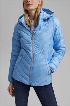 Esprit γυναικείο μπουφάν καπιτονέ με κουκούλα 3M™ Thinsulate™