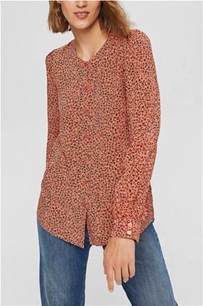 "Esprit γυναικείο πουκάμισο με all-over print ""LENZING™"""