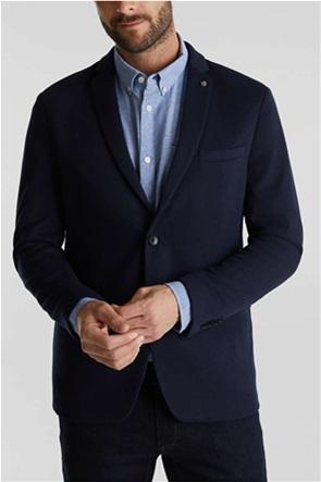 Esprit ανδρικό σακάκι casual πικέ