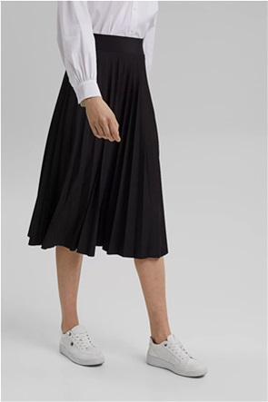 Esprit γυναικεία midi φούστα πλισέ