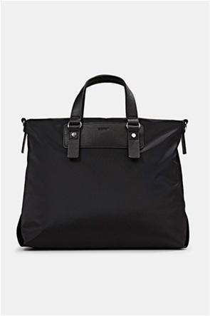 Esprit γυναικεία τσάντα χειρός με μεταλλικές λεπτομέρειες