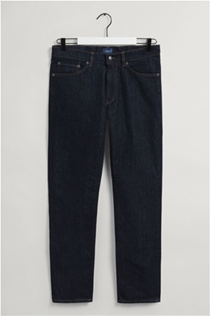 "Gant ανδρικό τζην παντελόνι μονόχρωμο ""Hayes Slim Fit"""