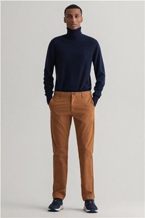 "Gant ανδρικό chino παντελόνι μονόχρωμο ""Hallden Slim Fit Canvas"""