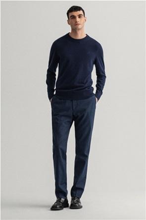 """Gant ανδρικό παντελόνι chino μονόχρωμο """"Puppytooth Suit"""""""