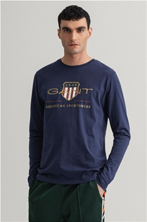 "Gant ανδρική μπλούζα με λογότυπο ""Archive Shield"""