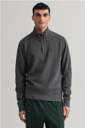 "Gant ανδρική πλεκτή μπλούζα με φερμουάρ 1/2 ""Sacker Rib Half-Zip"""