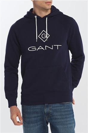 Gant ανδρικό φούτερ με κουκούλα ''Logo Hoodie''
