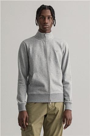 "Gant ανδρική ζακέτα φούτερ με κεντημένο logo ""Original"""
