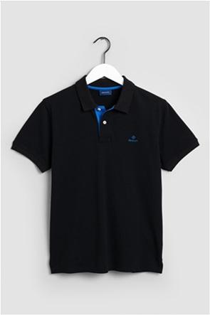 Gant ανδρική  πόλο μπλούζα με κεντημένο logo