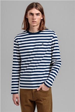 Gant ανδρική μακρυμάνικη μπλούζα με ριγέ σχέδιο ''Diamond G Long''