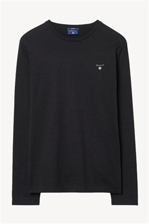 Gant ανδρική μπλούζα μονόχρωμη
