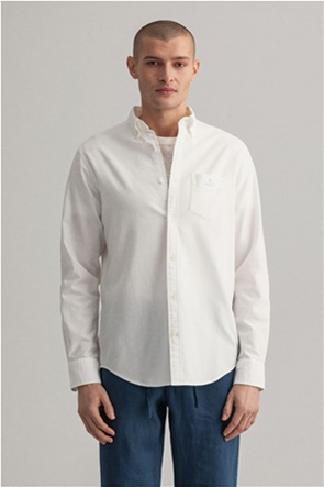 Gant ανδρικό πουκάμισο με μία τσέπη ''Oxford''