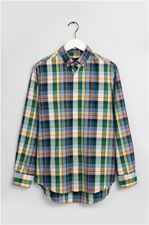 Gant ανδρικό πουκάμισο με καρό σχέδιο '' Tartan Oxford''