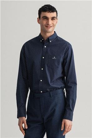 "Gant ανδρικό πουκάμισο με μικροσχέδιο ""Micro Paisley Oxford"""