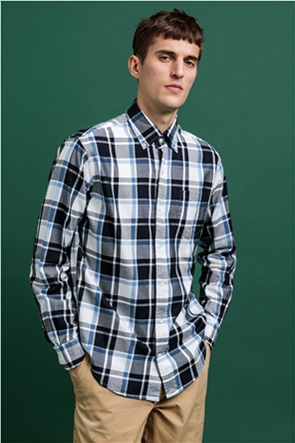"Gant ανδρικό πουκάμισο καρό ""Pure Prep"""