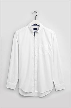 "Gant ανδρικό πουκάμισο μονόχρωμο με μία τσέπη ""Τech Prep™ Stretch Oxford"""