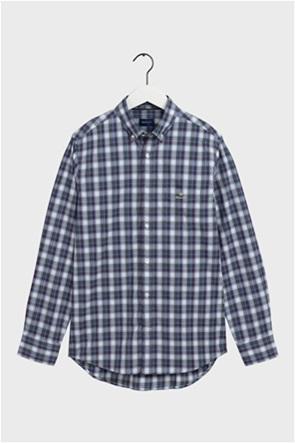 "Gant ανδρικό πουκάμισο καρό με button down γιακά ""Tech Prep ™"""