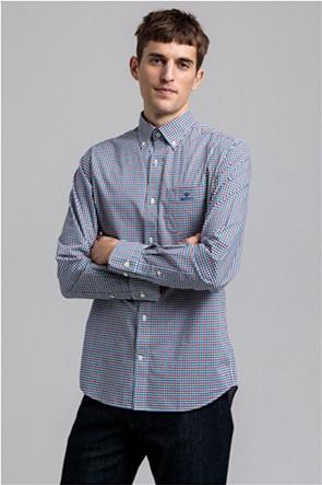 "Gant ανδρικό καρό πουκάμισο Regular Fit ""Gingham"""