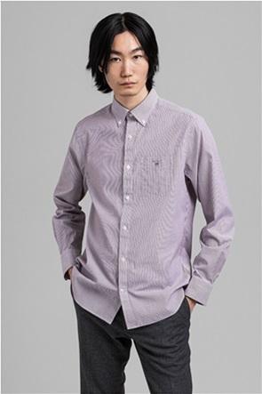 "Gant ανδρικό ριγέ πουκάμισο μακρυμάνικο ""Banker Broadcloth"""
