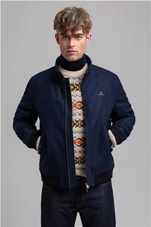 "Gant ανδρικό μάλλινο bomber jacket ""Herrington"""