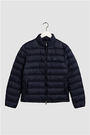 "Gant ανδρικό μπουφάν καπιτονέ μονόχρωμο με κεντημένο logo ""Light Padded"""