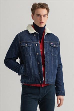 Gant ανδρικό denim jacket με γούνα