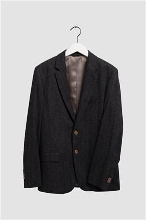 """Gant ανδρικό σακάκι Slim Fit """"Herringbone"""""""