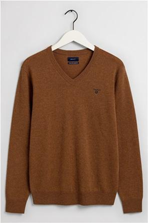 "Gant ανδρικό μάλλινο πουλόβερ με V λαιμόκοψη ""Extra Fine"""