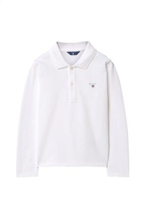 Gant παιδική μπλούζα polo μακρυμάνικη