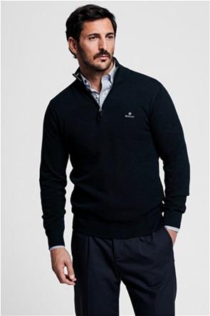 "Gant ανδρικό πικέ πουλόβερ με φερμουάρ 1/2 ""Troyer"""