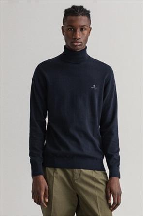 "Gant ανδρική πλεκτή μπλούζα ζιβάγκο με κεντημένο logo ""Classic"""
