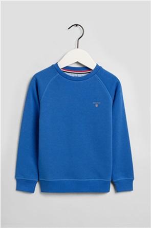 Gant παιδική μπλούζα φούτερ μονόχρωμη