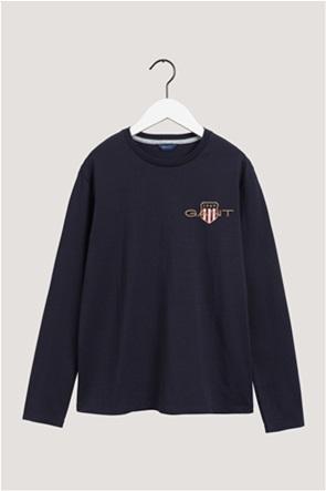 "Gant παιδική μπλούζα με κεντημένο logo ""Teens Medium Archive Shield"""