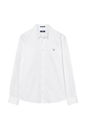 Gant παιδικό μονόχρωμο πουκάμισο