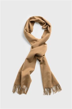 Gant ανδρικό μονόχρωμο κασκόλ Solid Wool